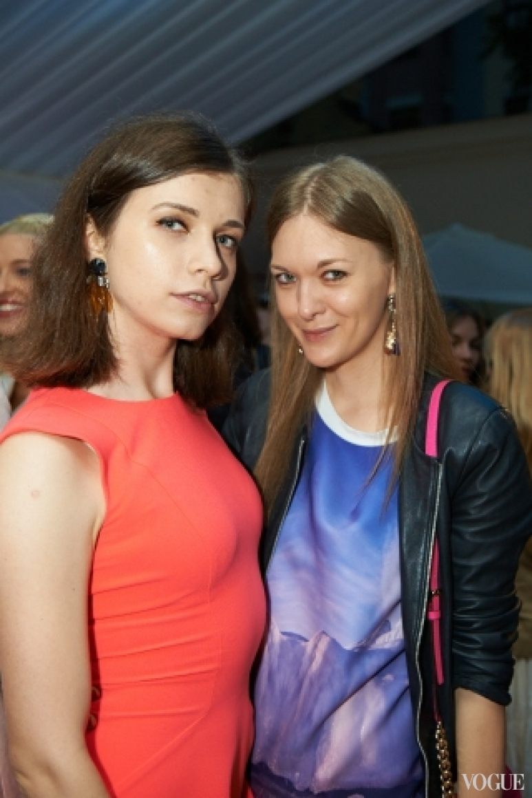 Алиса Саенко и Маруся Коваль