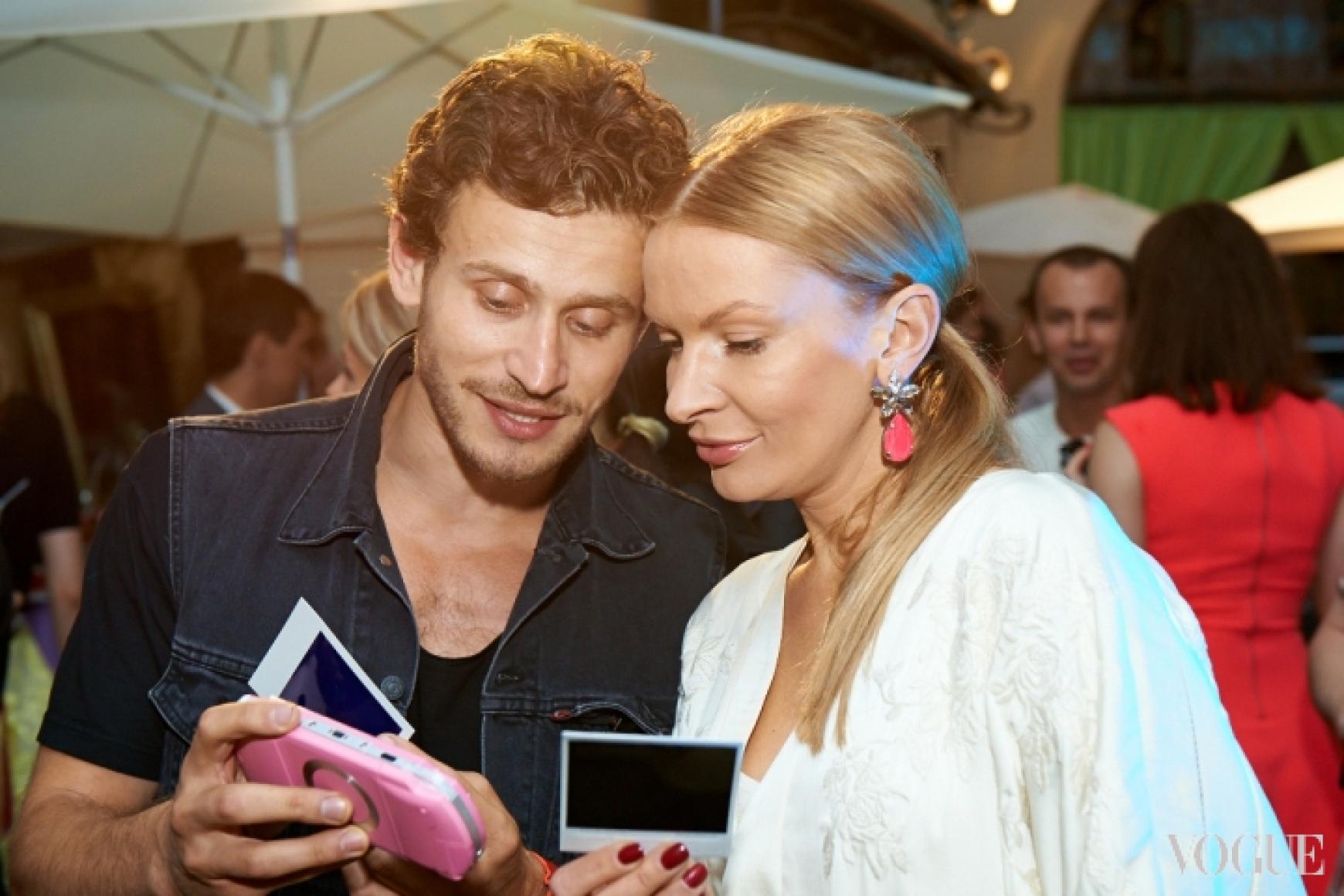 Владимир Юдашкин и Полина Неня
