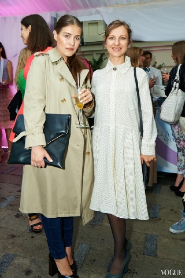 Евгения Каганович и Ирина Павлык