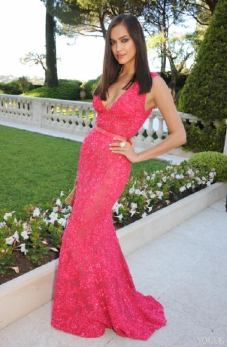 Ирина Шейк в платье Elie Saab RTW S/S 2013
