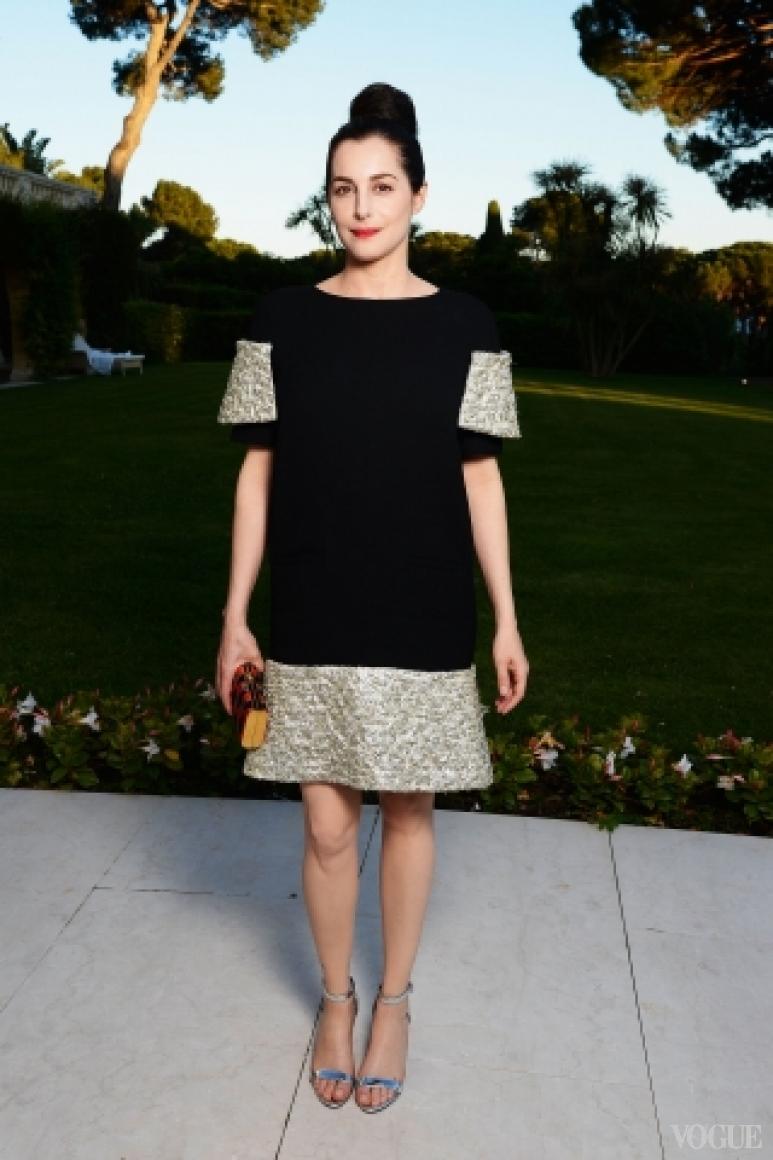 Амира Казар в платье Chanel Haute Couture S/S 2013
