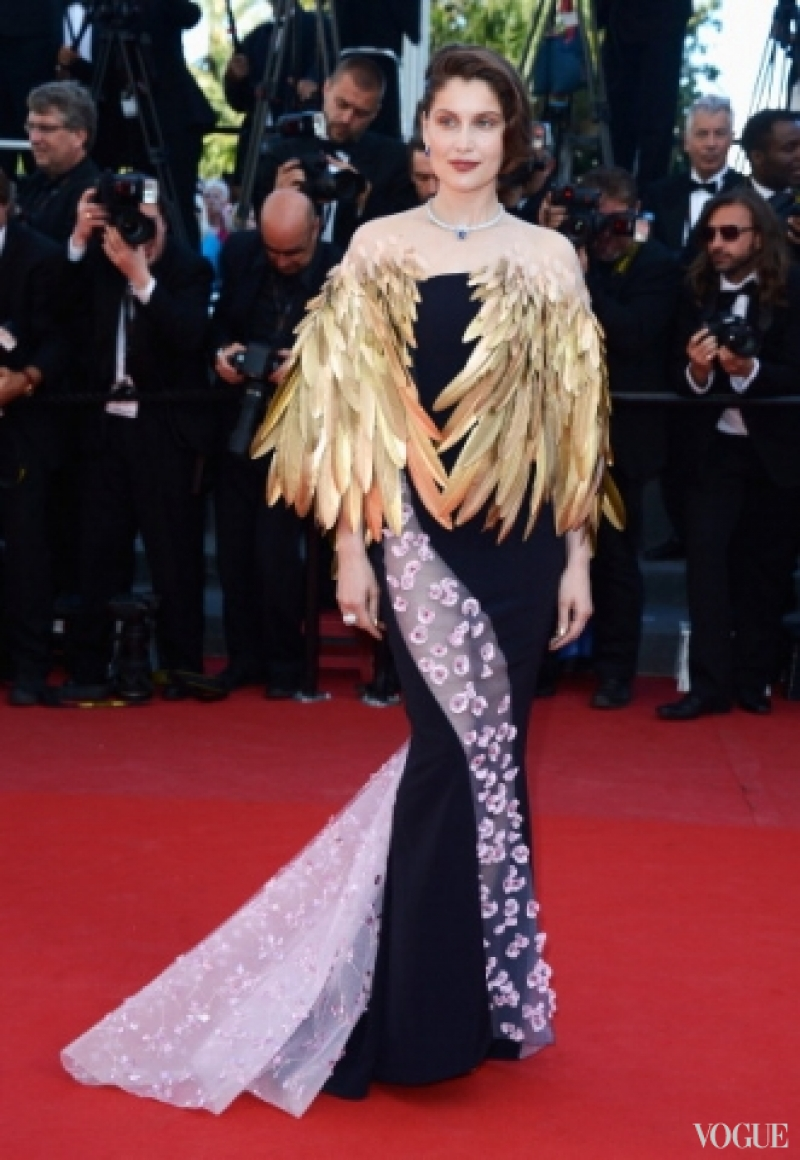 Летиция Каста в платье Christian Dior Couture
