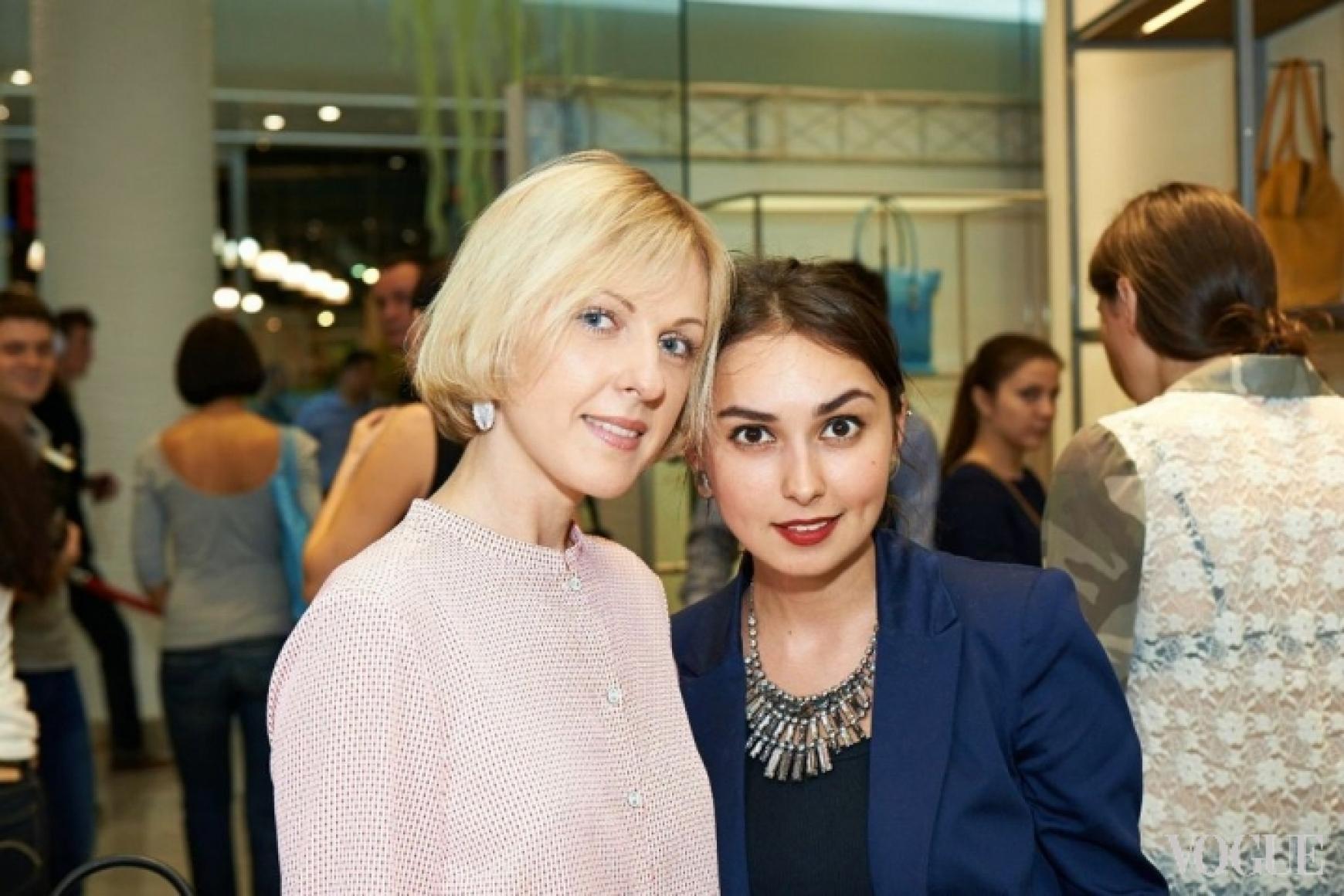 Юлия Костецкая и Юлия Зауличная