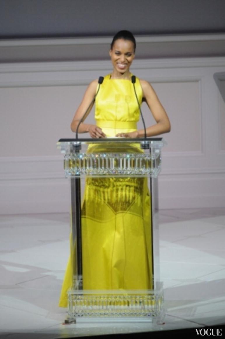 Керри Вашингтон в платье Jason Wu Resort 2014