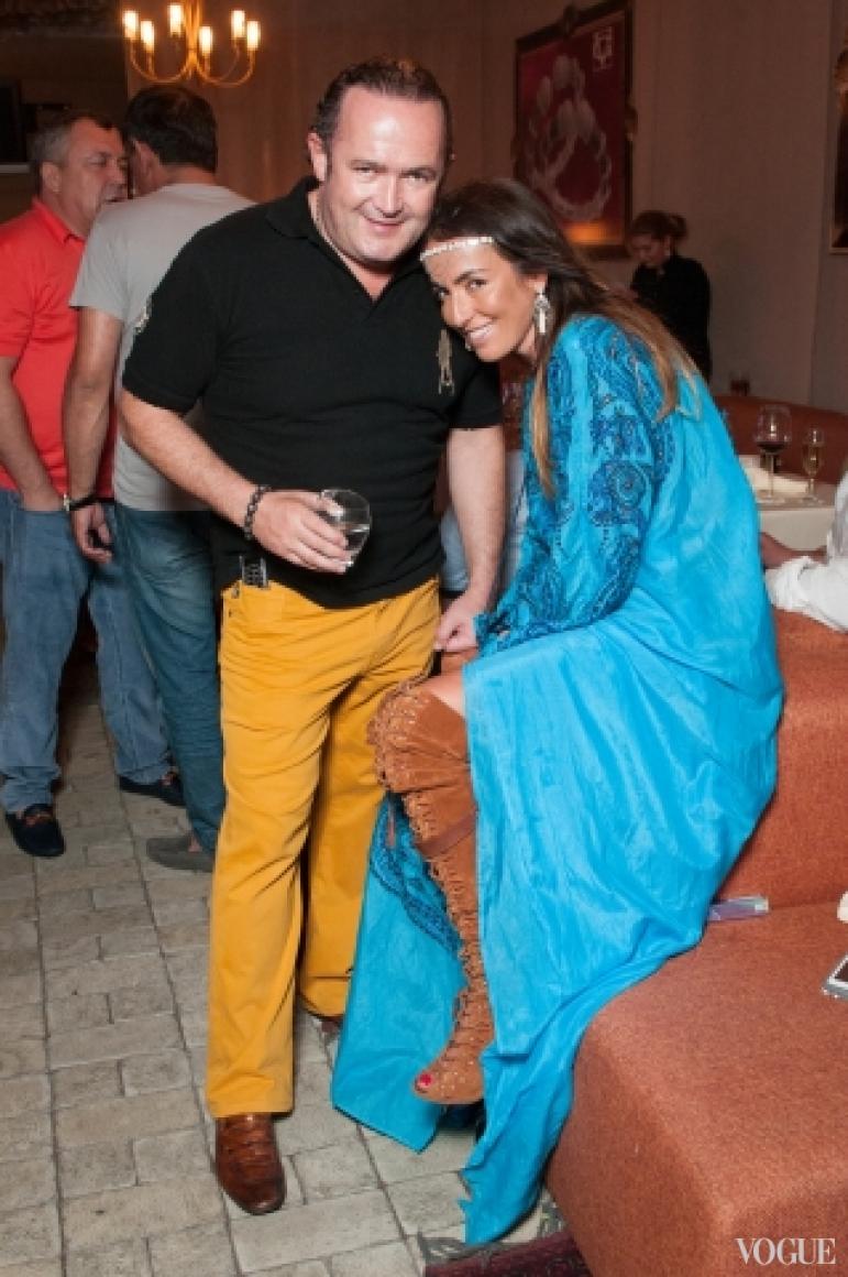 Игорь Фруман и Лиза Наумова