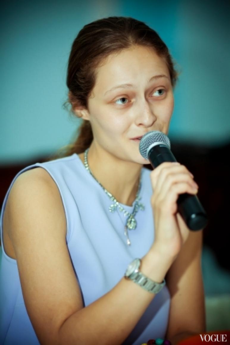 Дарья Шаповалова на медиа-бранче