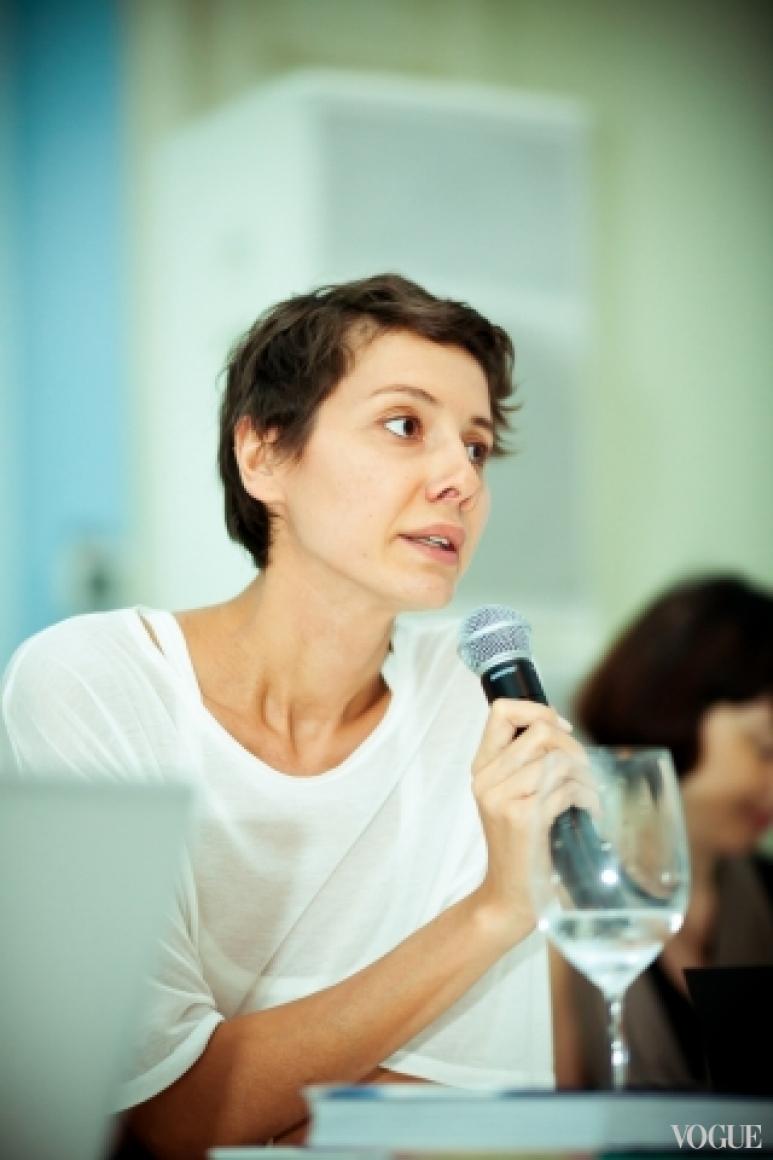 Юлия Пелипас на медиа-бранче