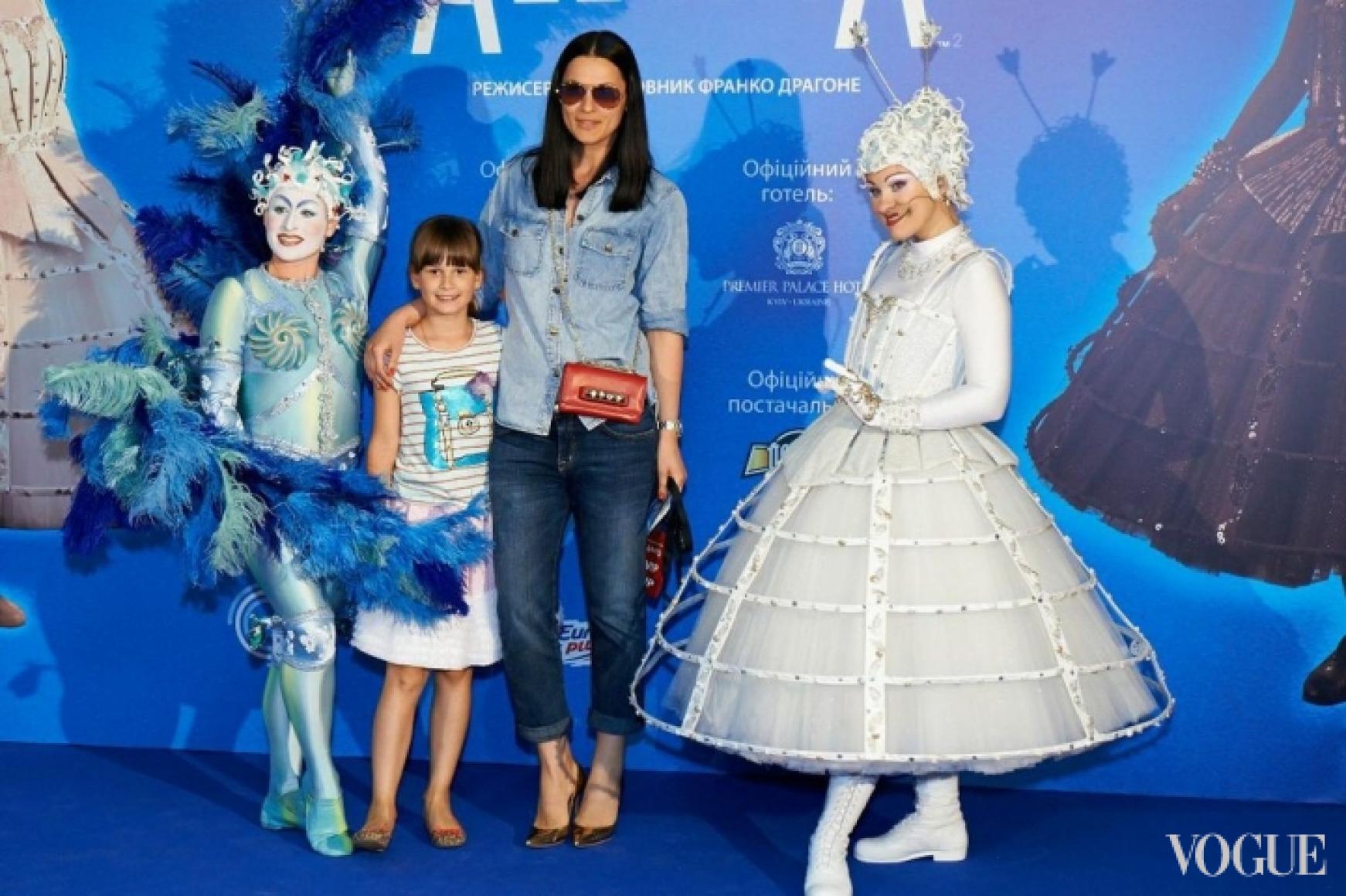 Маша Ефросинина с дочерью Наной