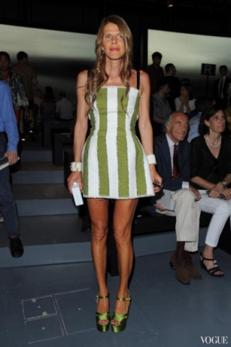 Анна Делло Руссо в платье Dolce & Gabbana