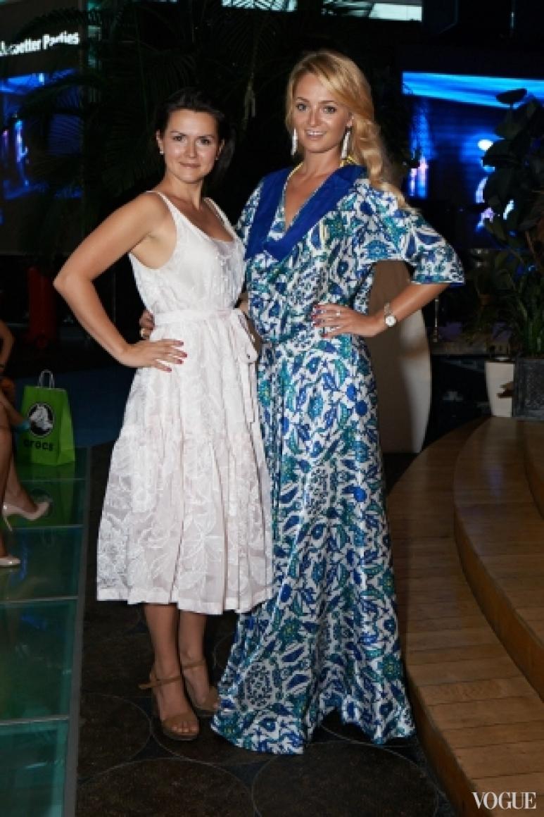 Елена Даць с подругой