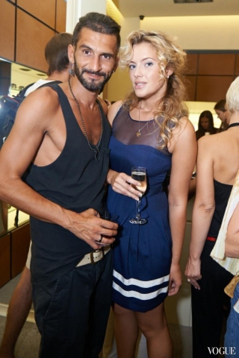 Валерий Топал и София Милано