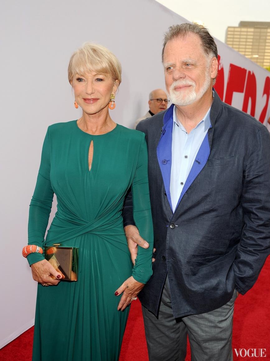 Хелен Миррен с мужем Тэйлором Хэкфордом