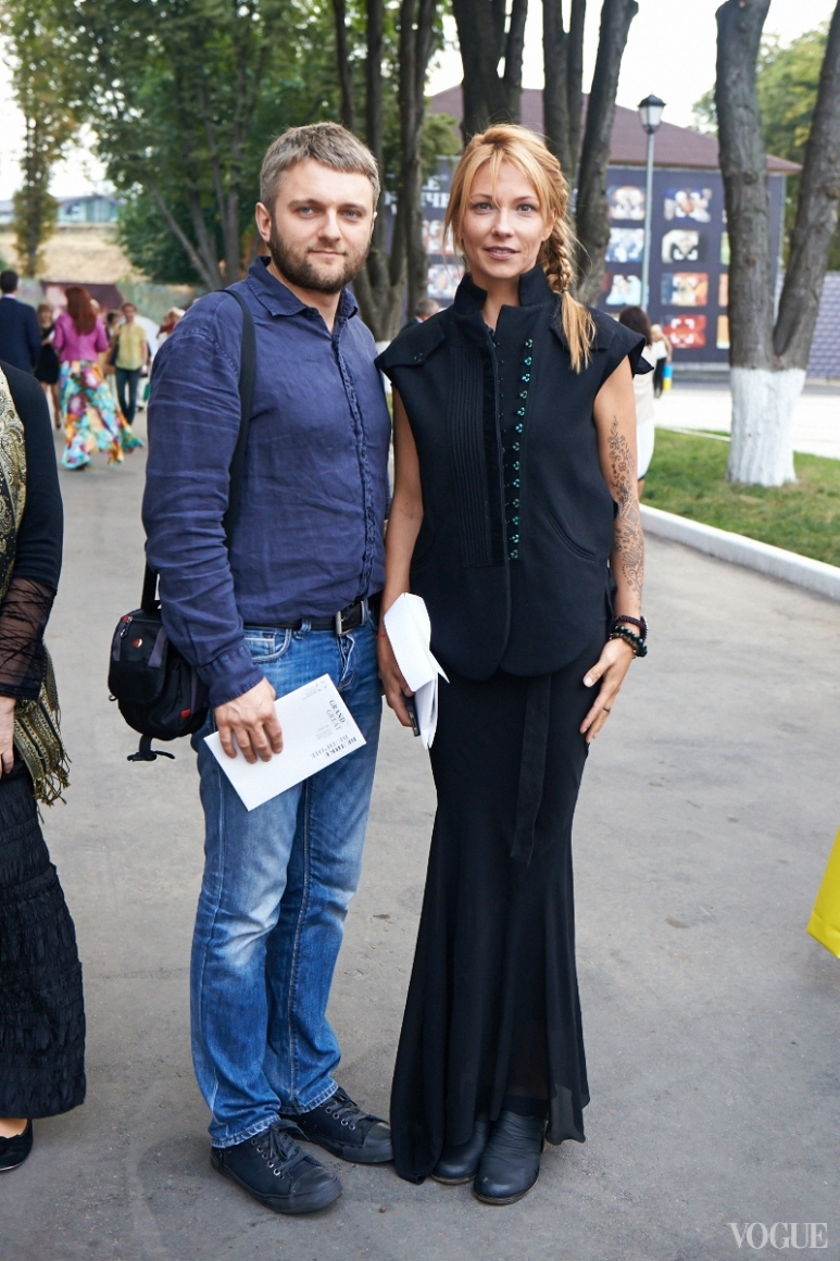Кирилл Карабиц и Зинаида Лихачева