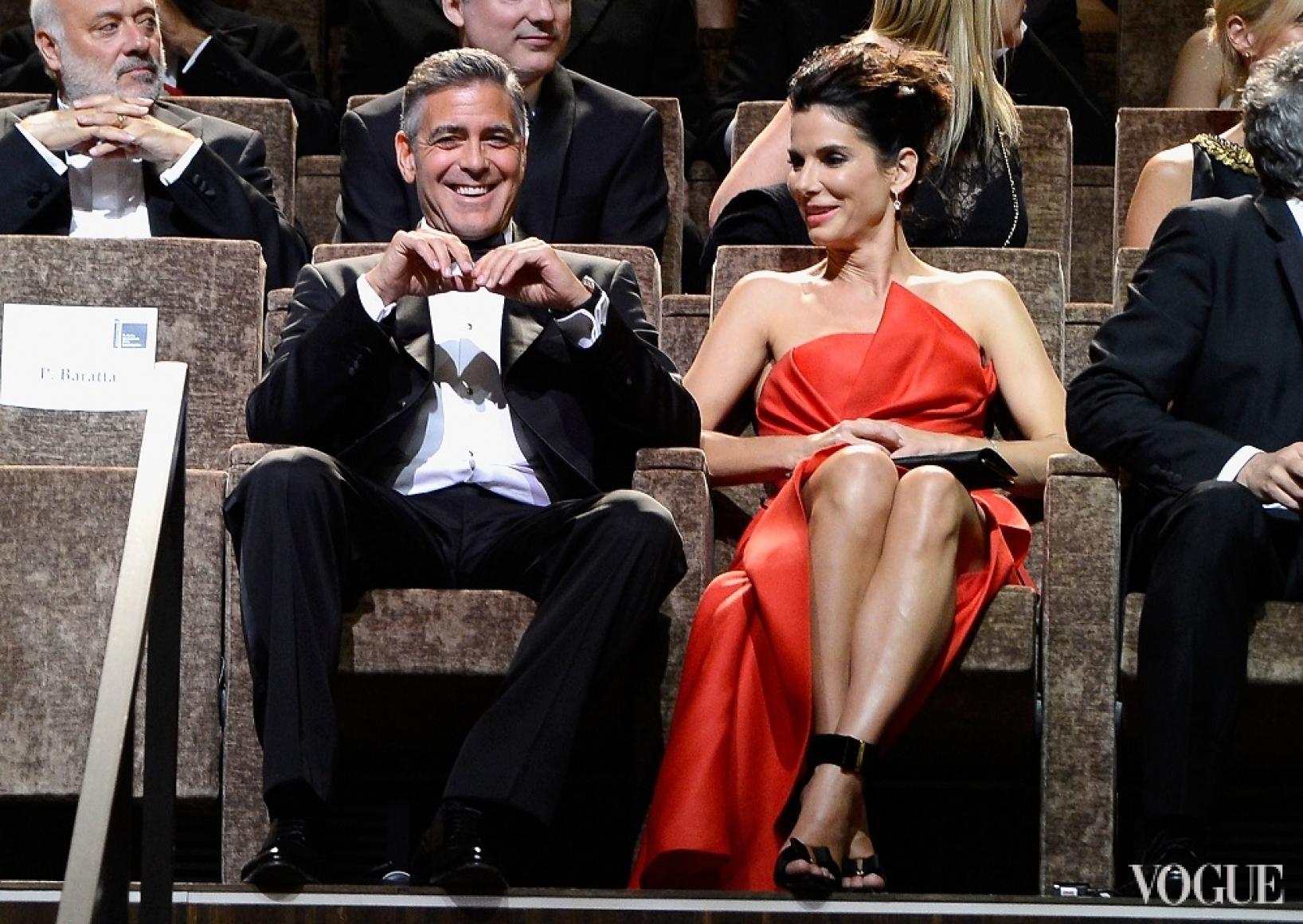 Джордж Клуни и Сандра Буллок