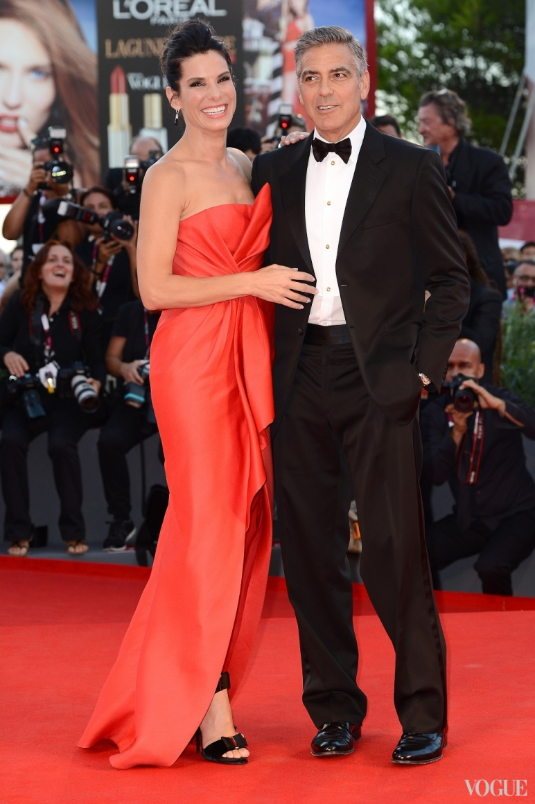 Сандра Буллок и Джордж Клуни