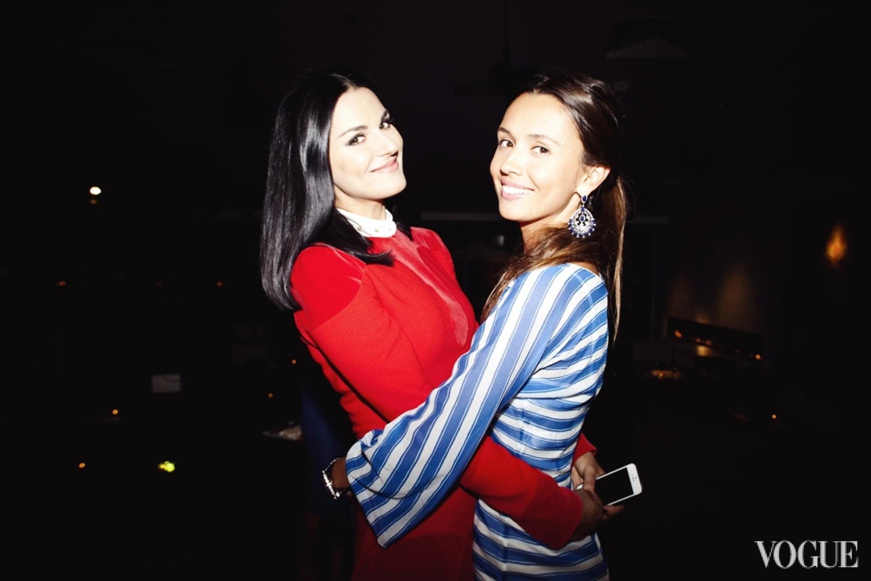 Мария Ефросинина и Лиза Ющенко