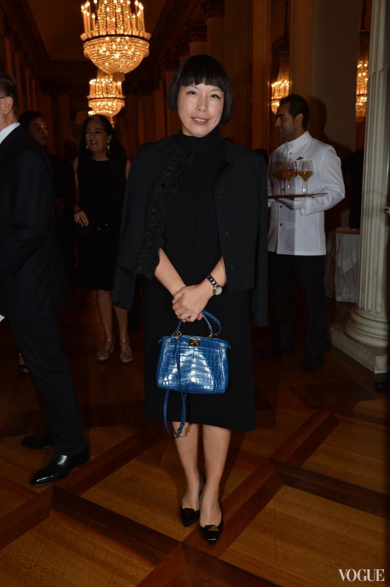 Главный редактор Vogue Китай Анжелика Чонг