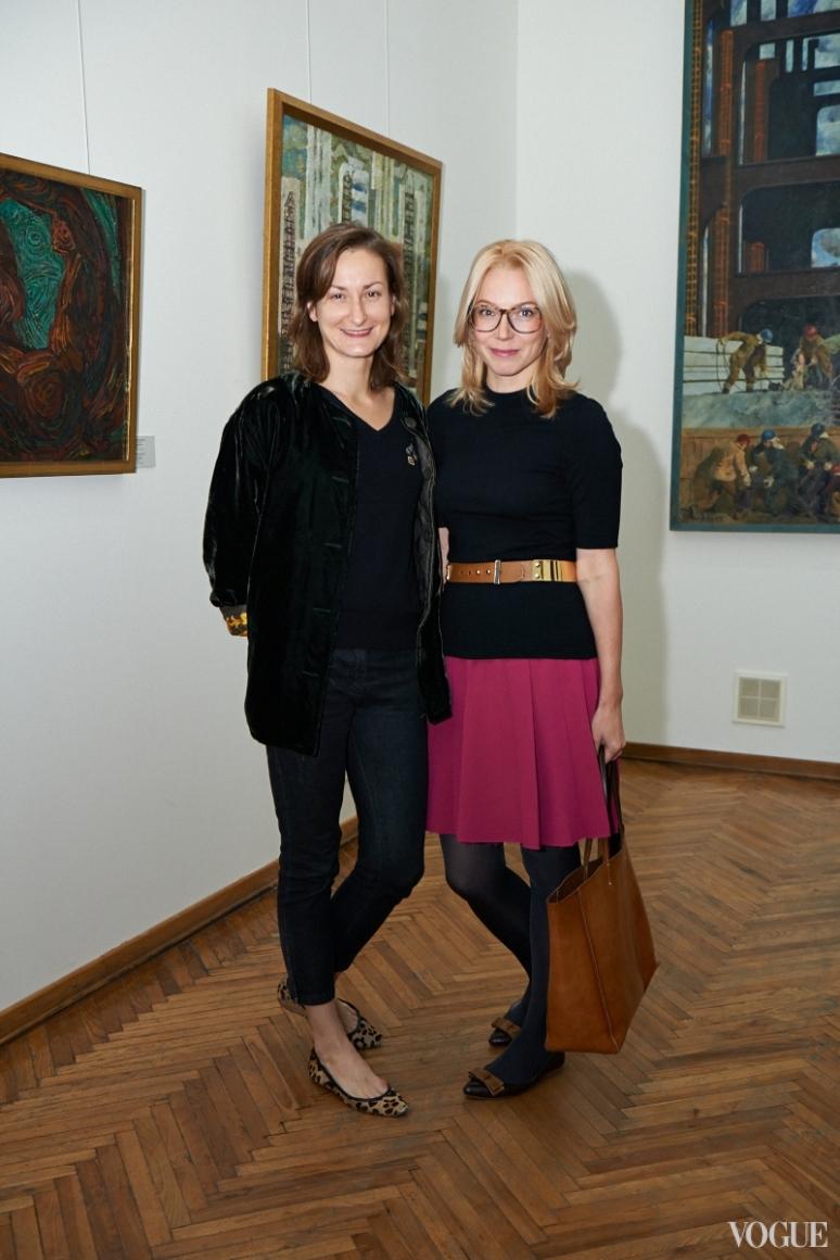 Татьяна Соловей и Ирина Каравай
