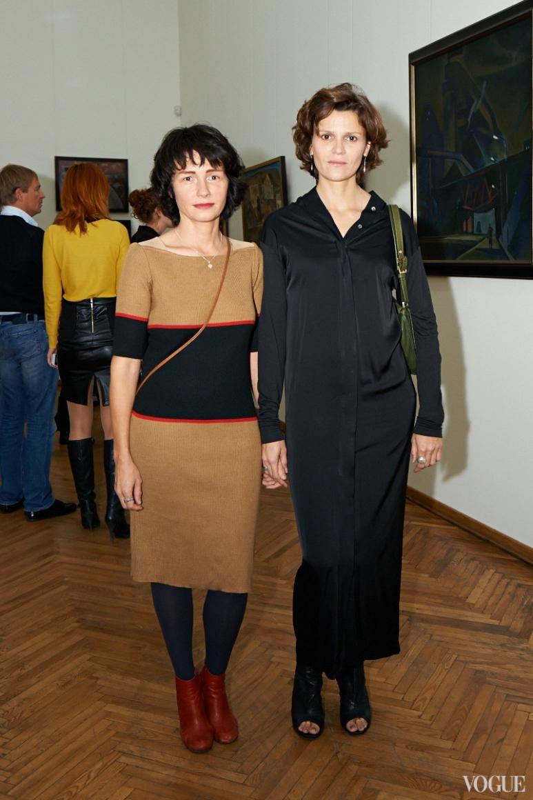 Наталья Исупова и Леся Мальская