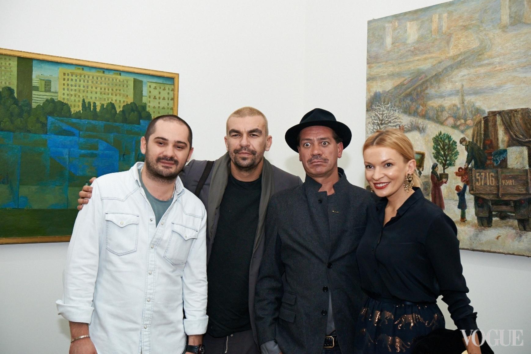 Дэни Дадаев, Юрий Чернецкий, Илья Чичкан, Полина Неня