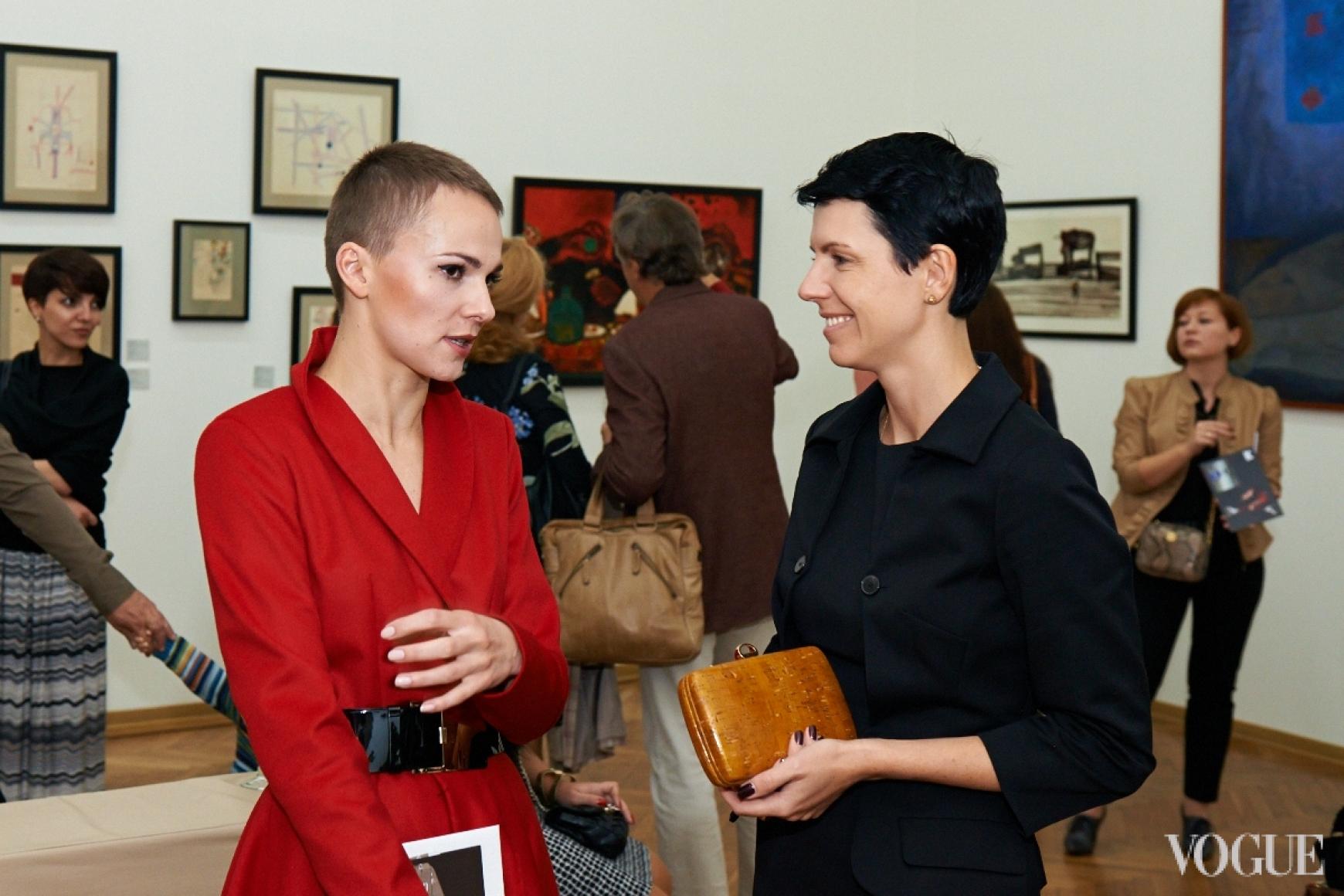 Катя Березницкая и Марина Щербенко