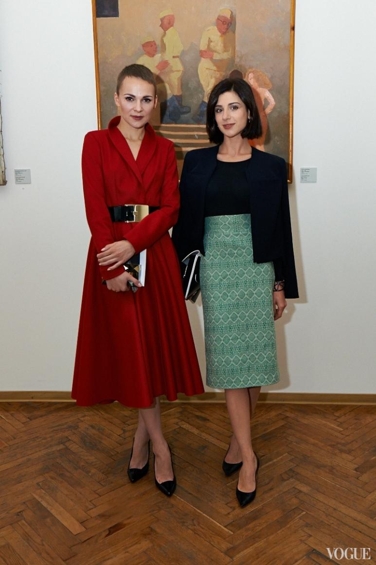 Катя Березницкая и Светлана Бевза