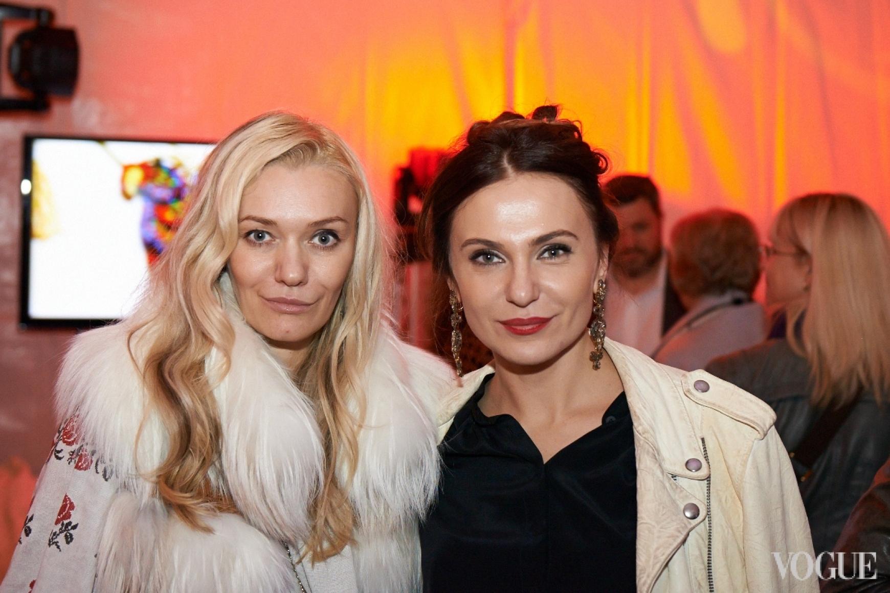 Ирина Ковальчук и Ольга Слонь