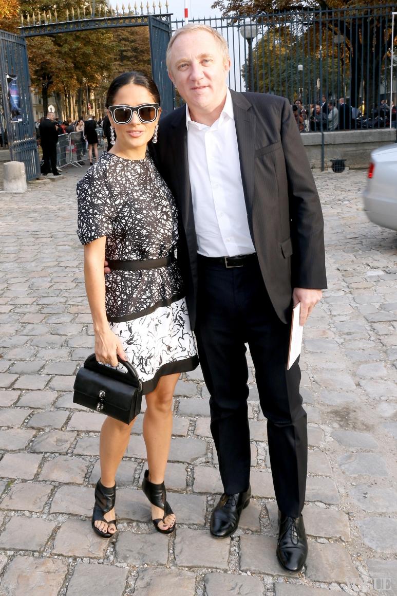 Сальма Хайек и Франсуа Пино