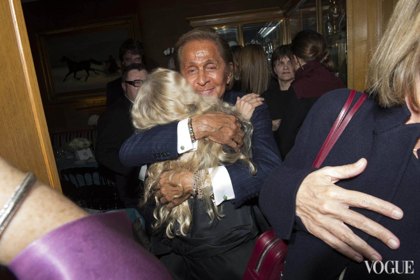 Франка Соццани и Валентино Гаравани
