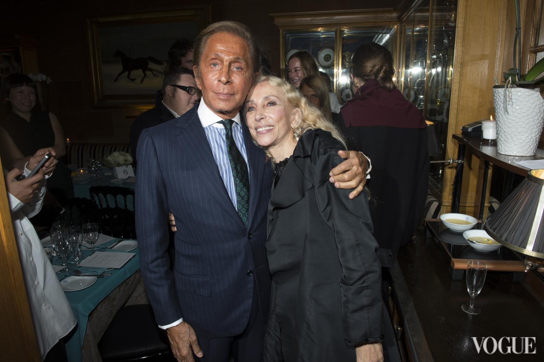Валентино Гаравани и Франка Соццани