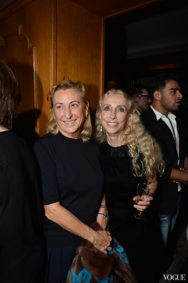 Миучча Прада и Франка Соццани