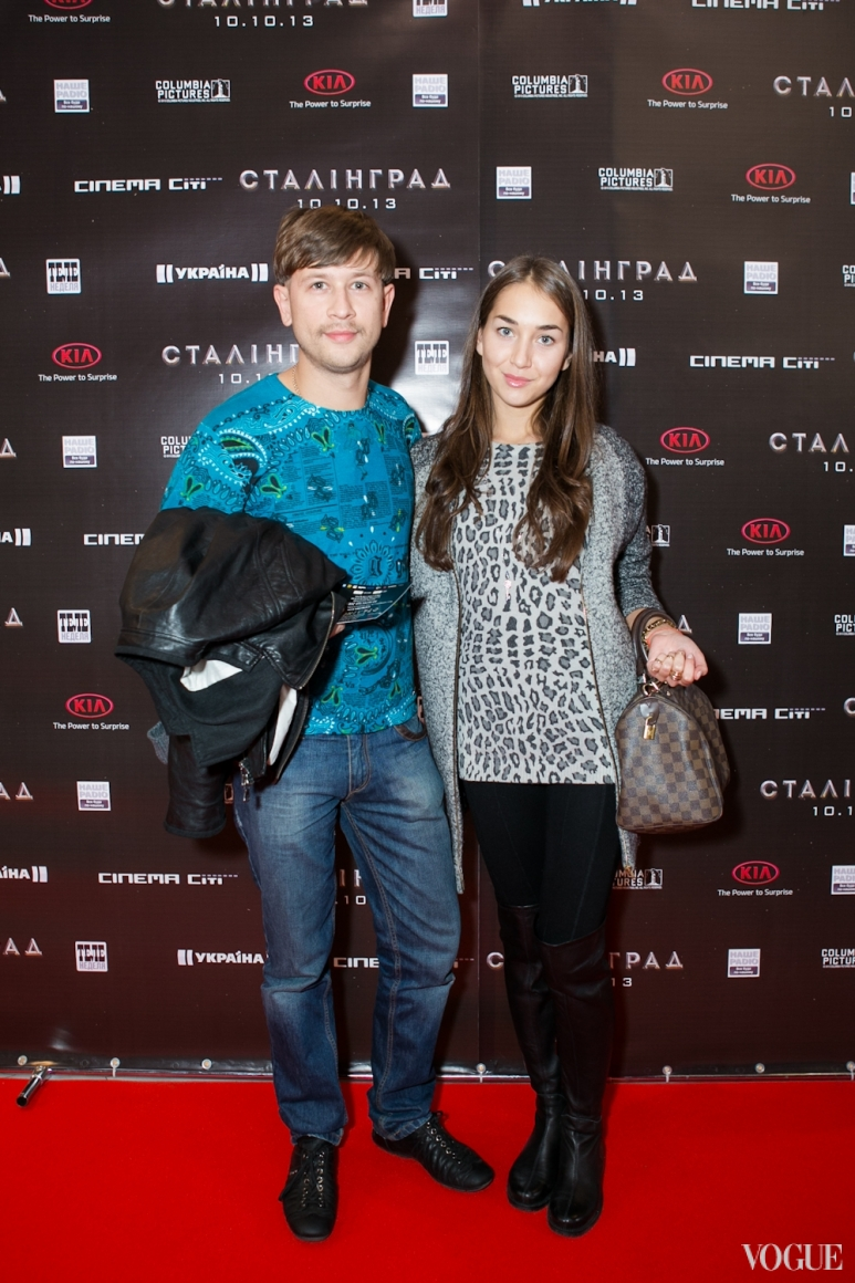 Дмитрий Ступка и Екатерина Литвиненко