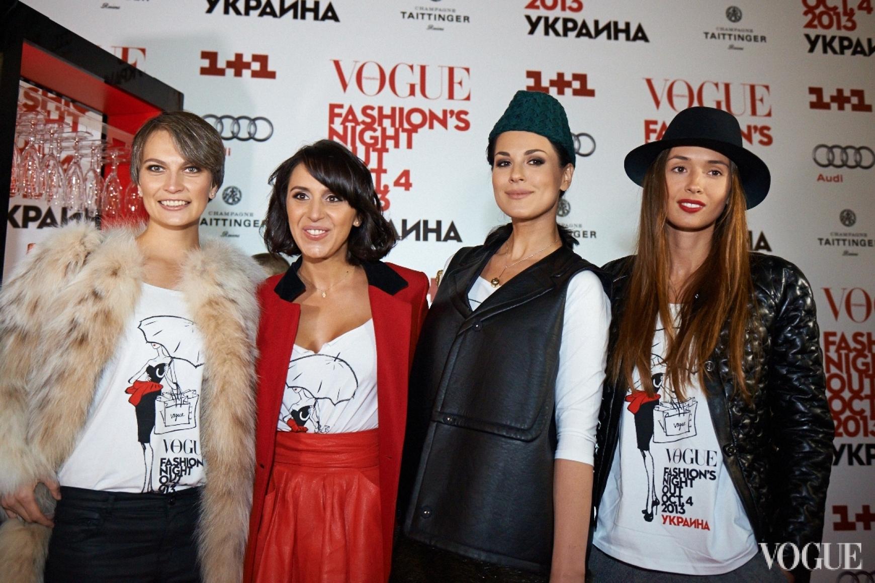 Маша Цуканова, Джамала, Маша Ефросинина, Лиза Ющенко