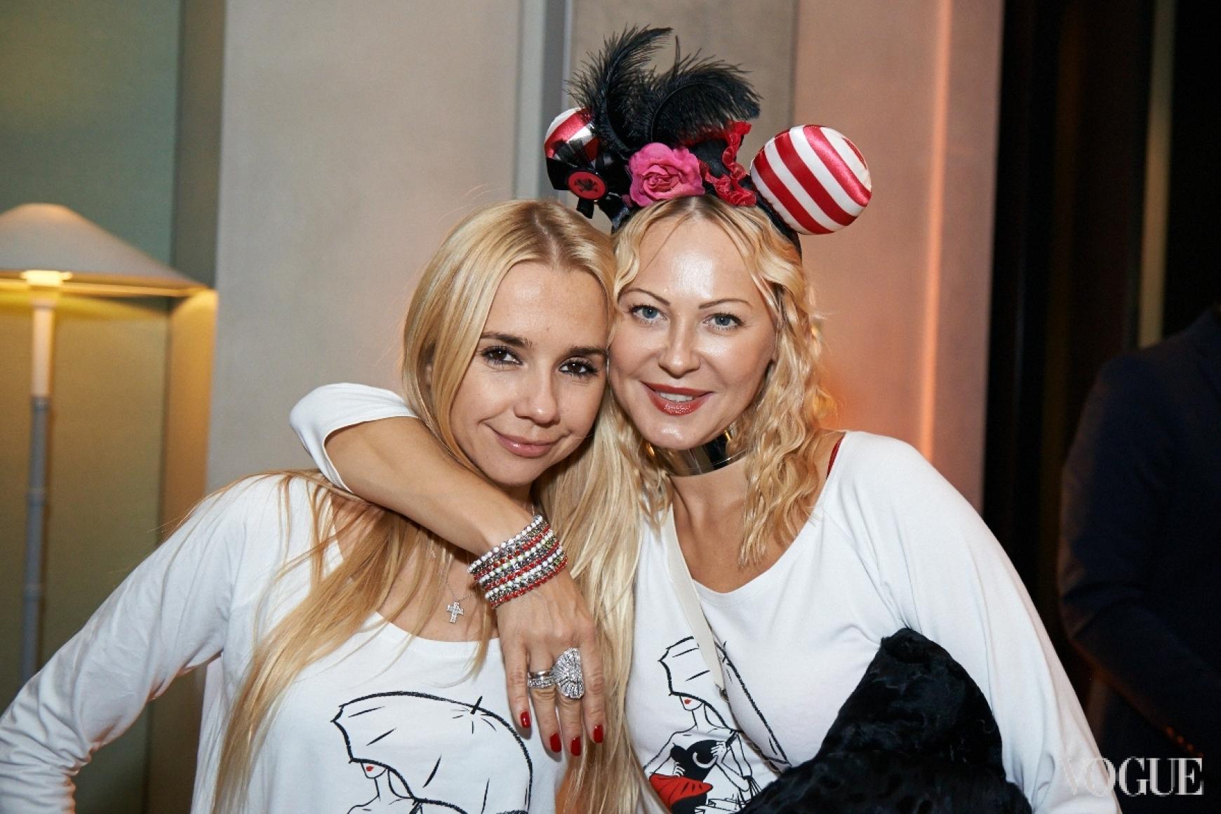 Ирина Турбаевская и Ольга Аленова