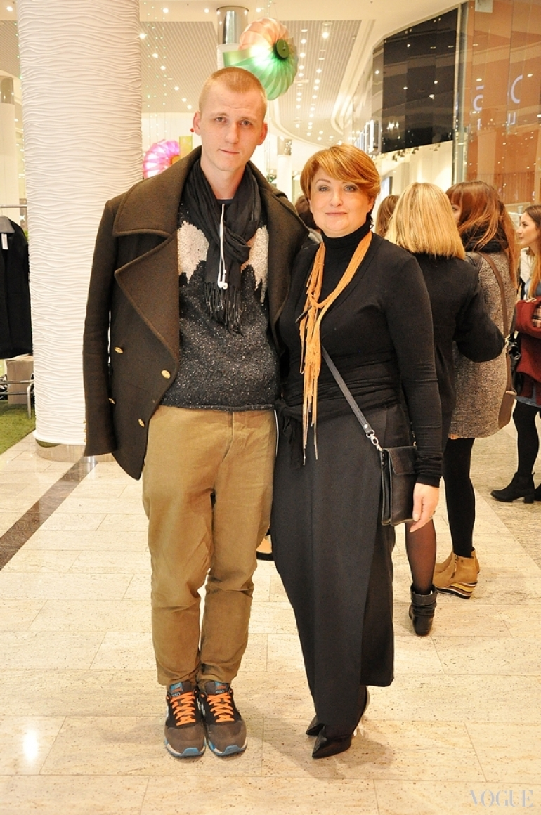 Артем Климчук и Ирина Даниленко