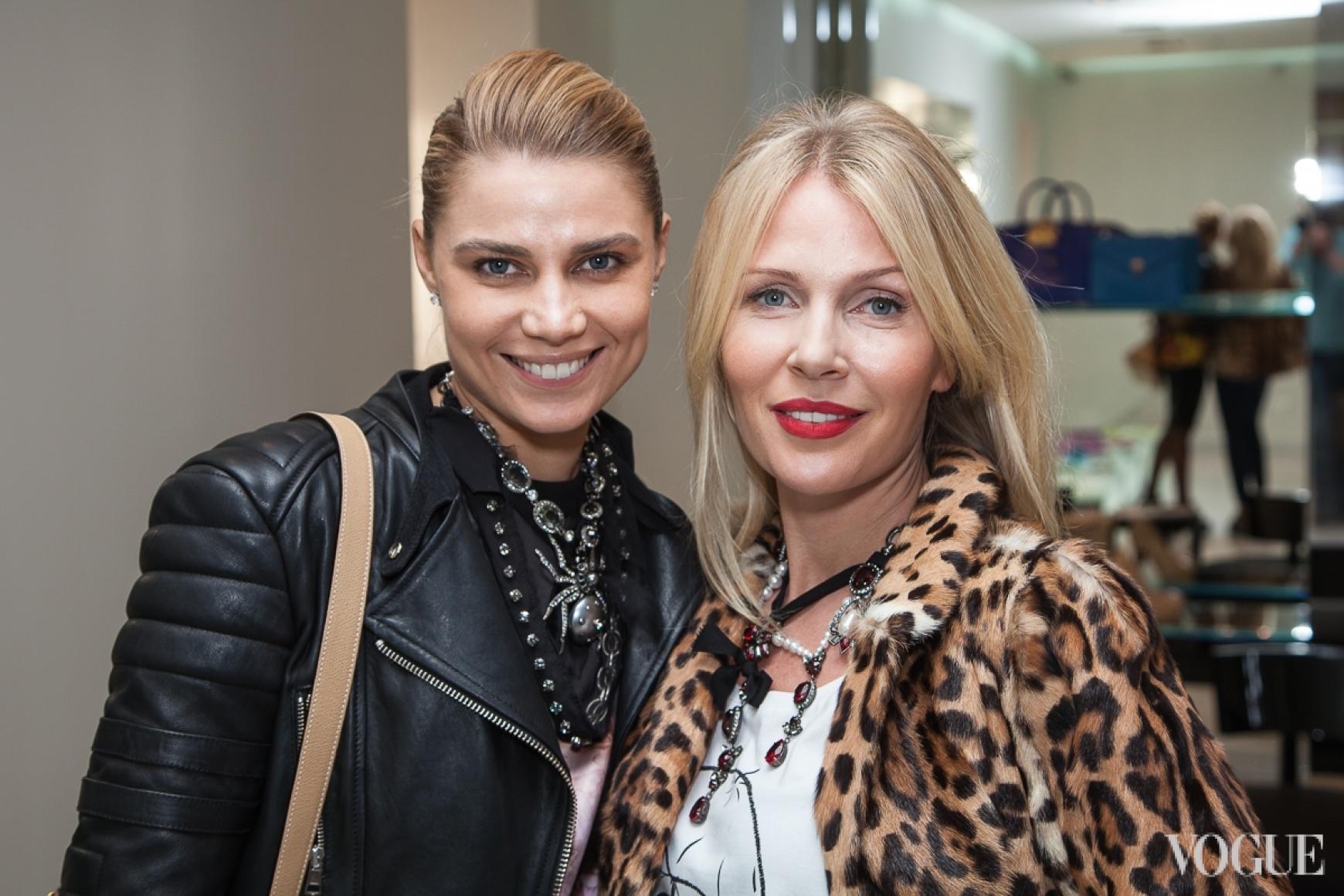 Юлия Богдан и Анна Мартыненко