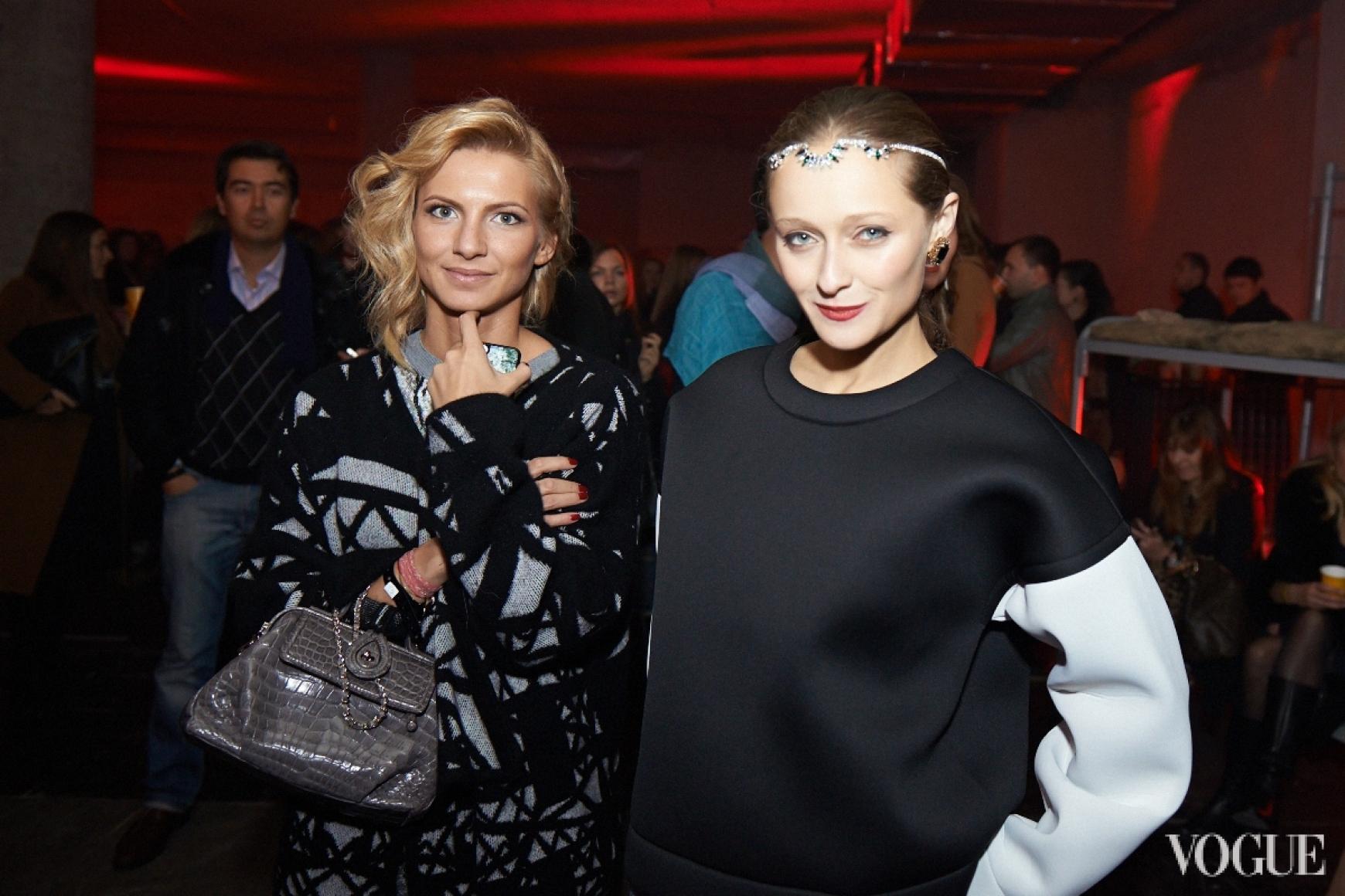 Елизавета Юрушева и Даша Шаповалова