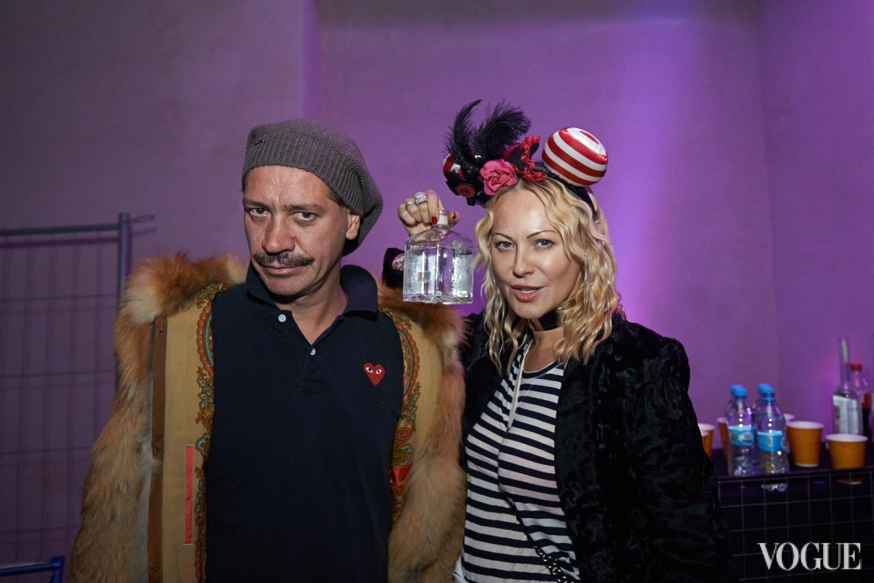 Илья Чичкан и Ольга Аленова