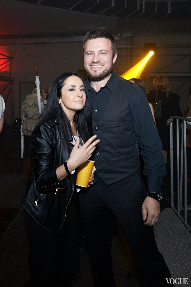 Елена Юшко и Андрей Скок