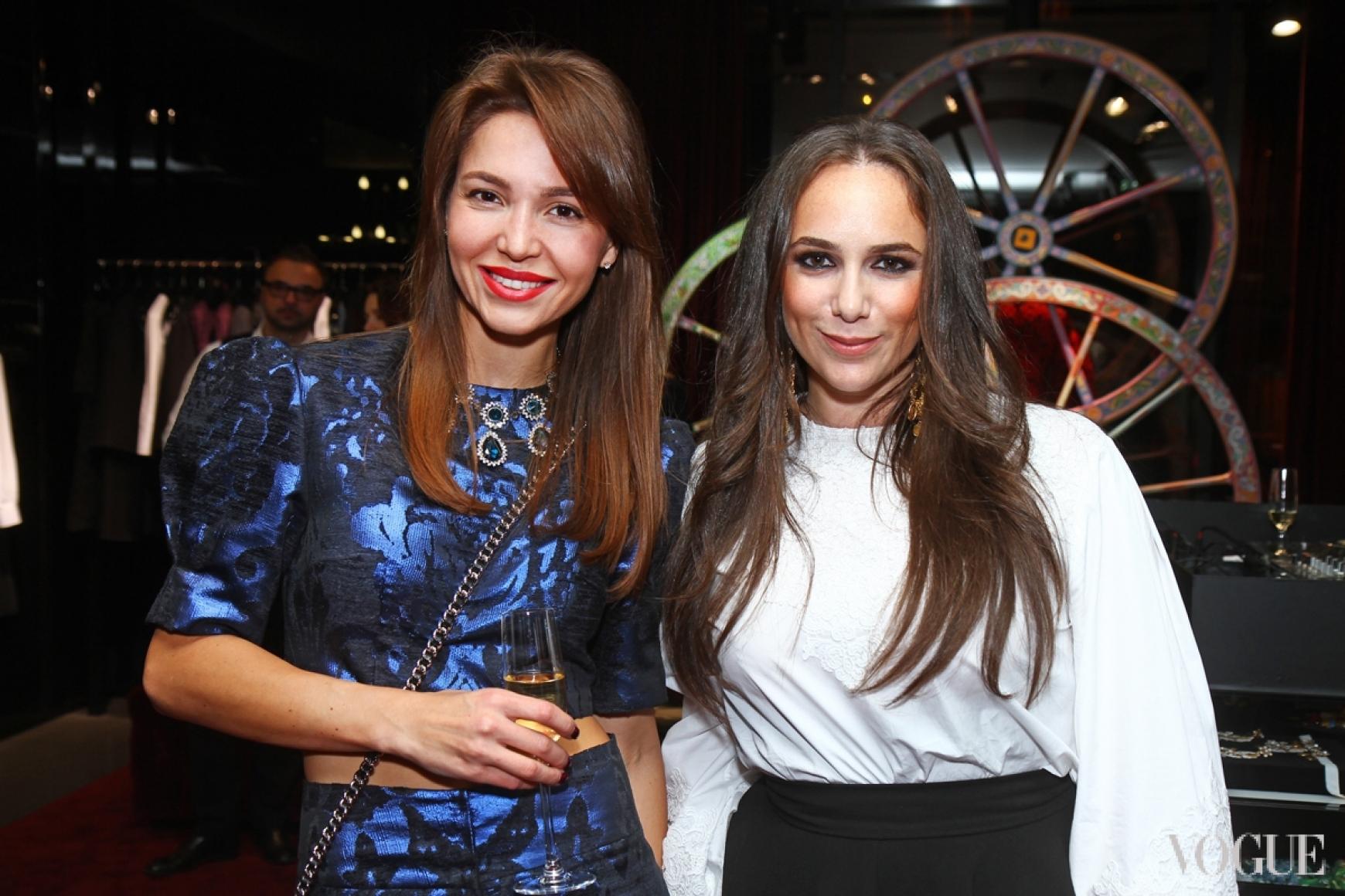 Мария Яслинская и Катрин Вербер
