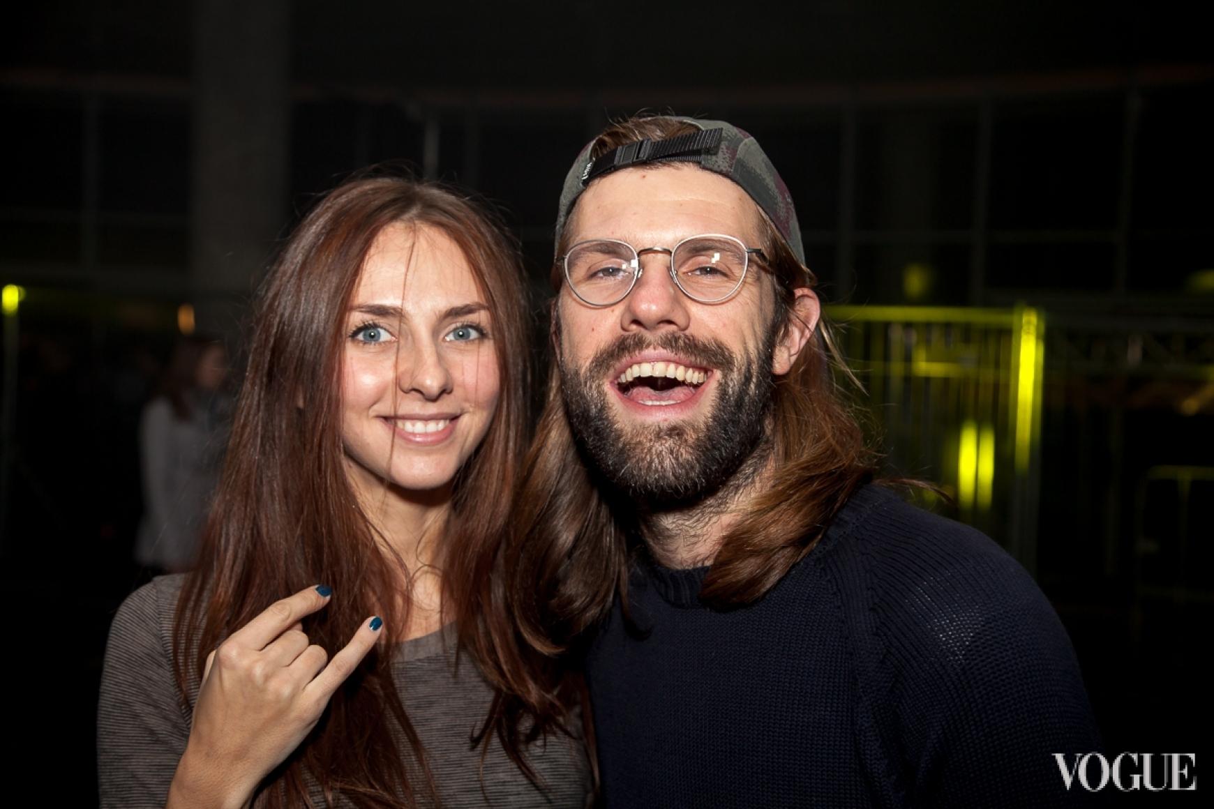 Вика Пинхасова и Саша Каневский