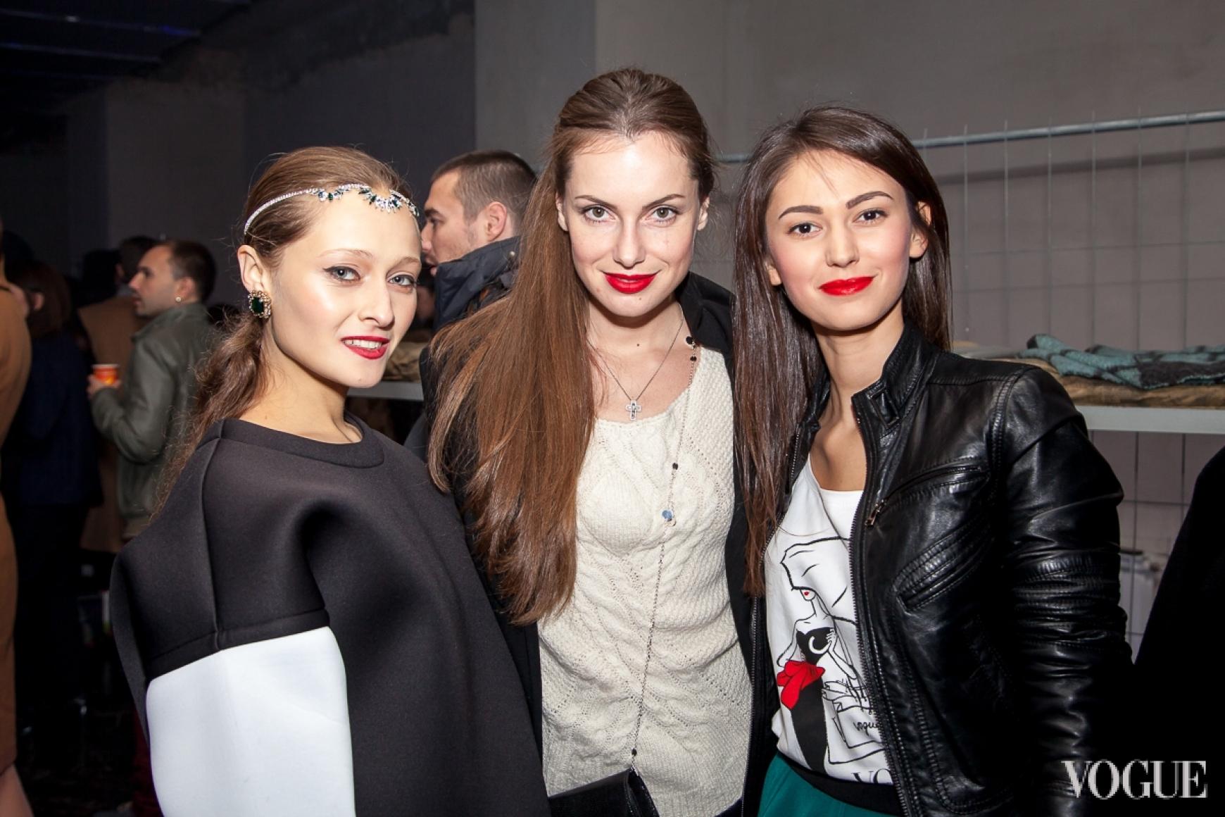 Даша Шаповалова, Елена Мигдисова и Екатерина Горина