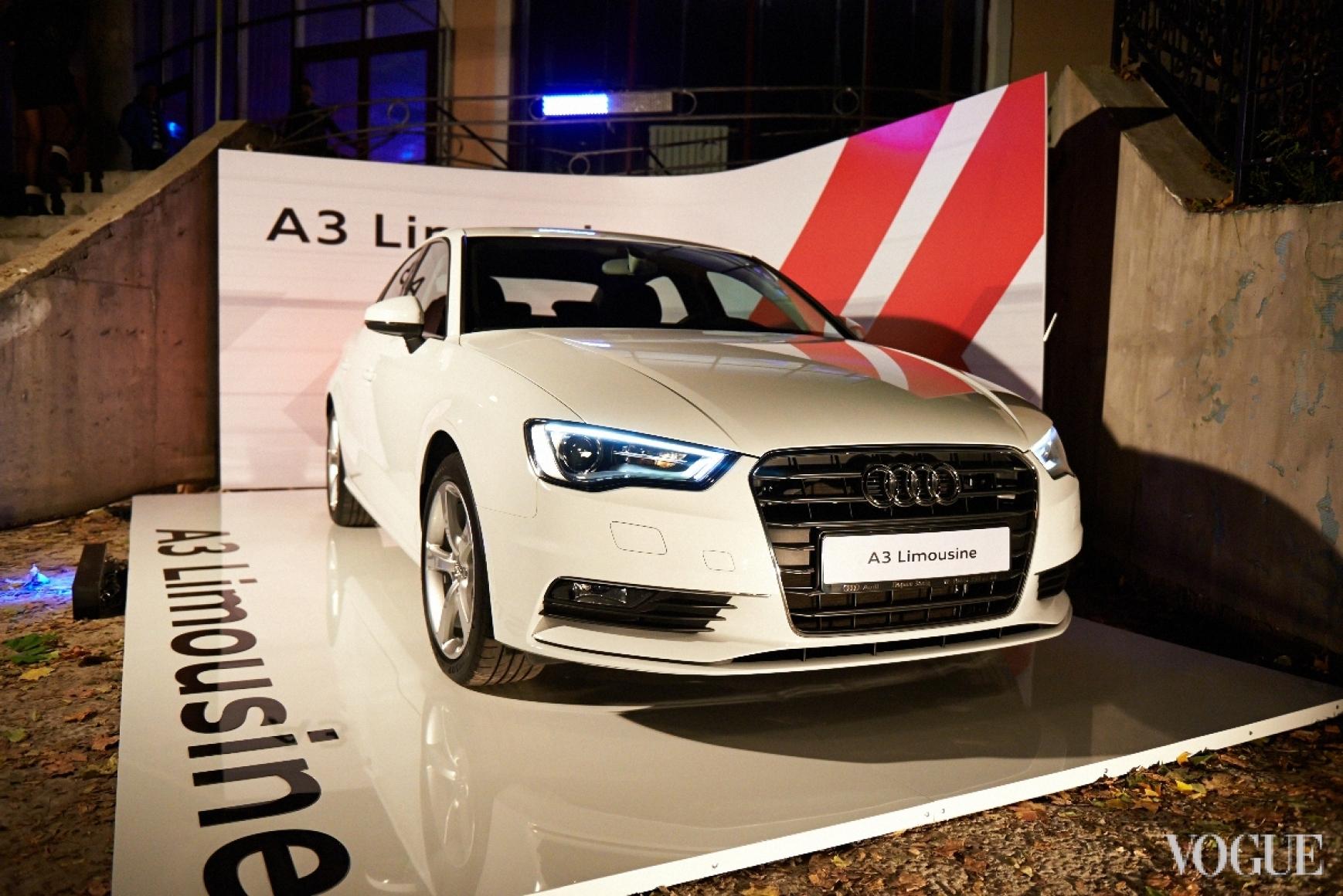 Новая Audi A3 Limousine