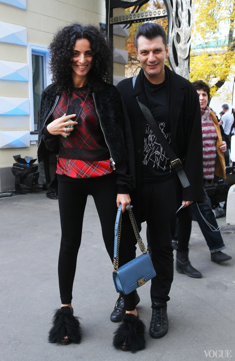Автандил Цквитинидзе с женой