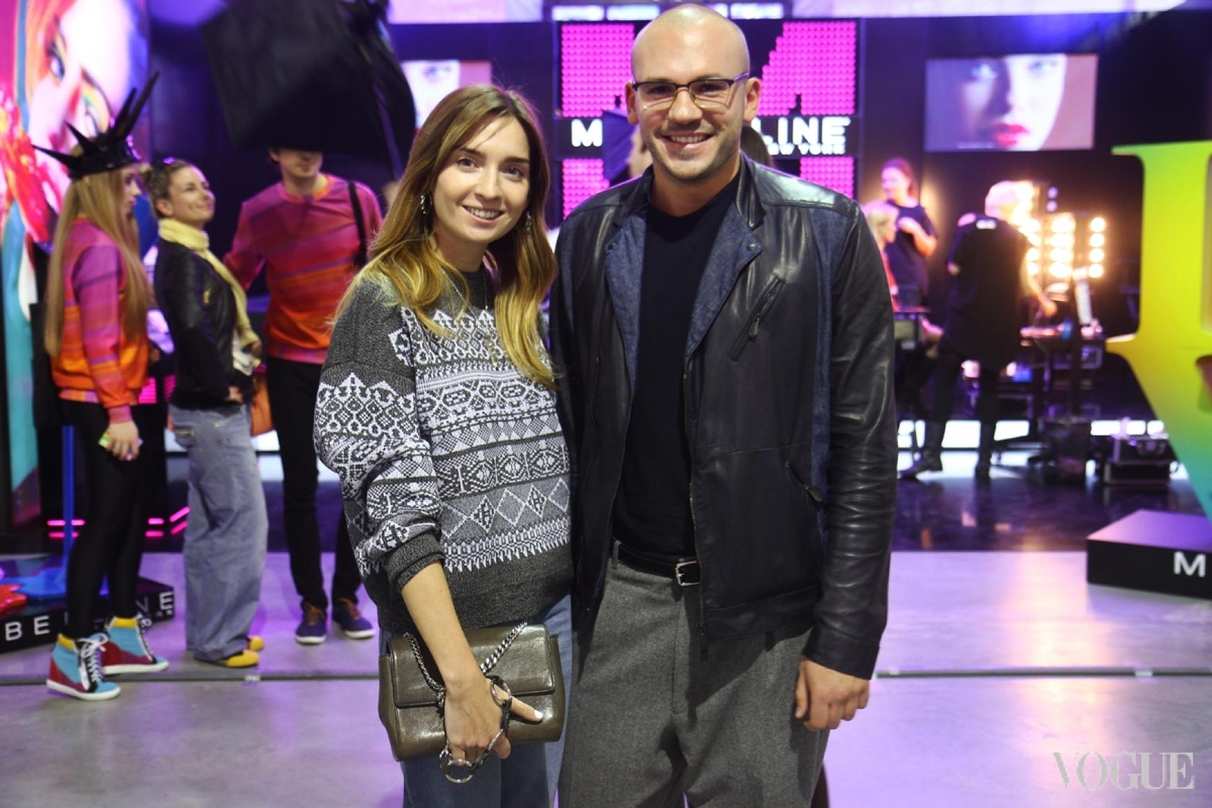 Елена Пащенко и Дмитрий Евенко