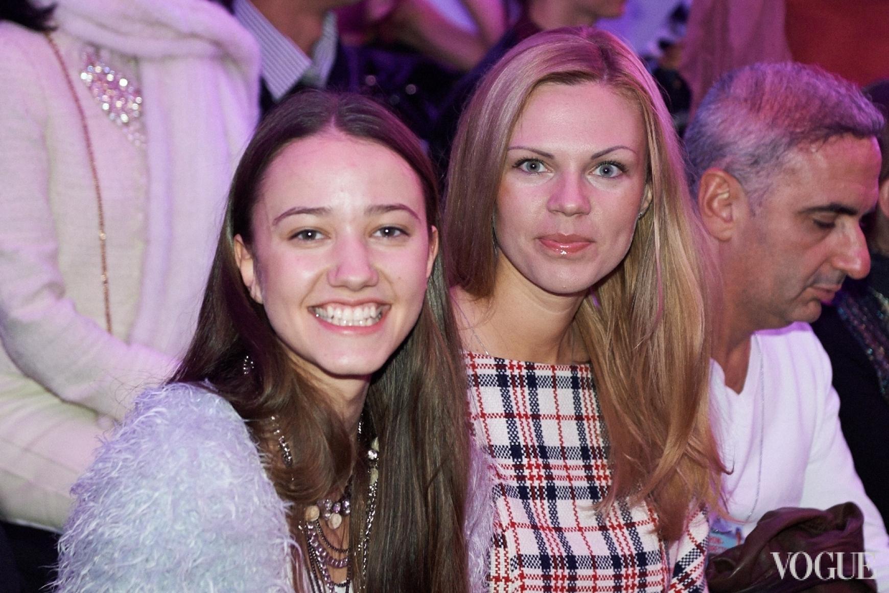 Соня Борушко и Валерия Толочина