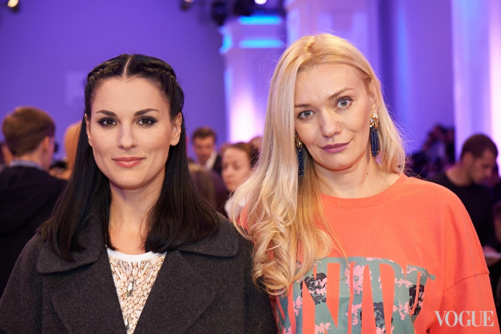 Маша Ефросинина и Ирина Ковальчук
