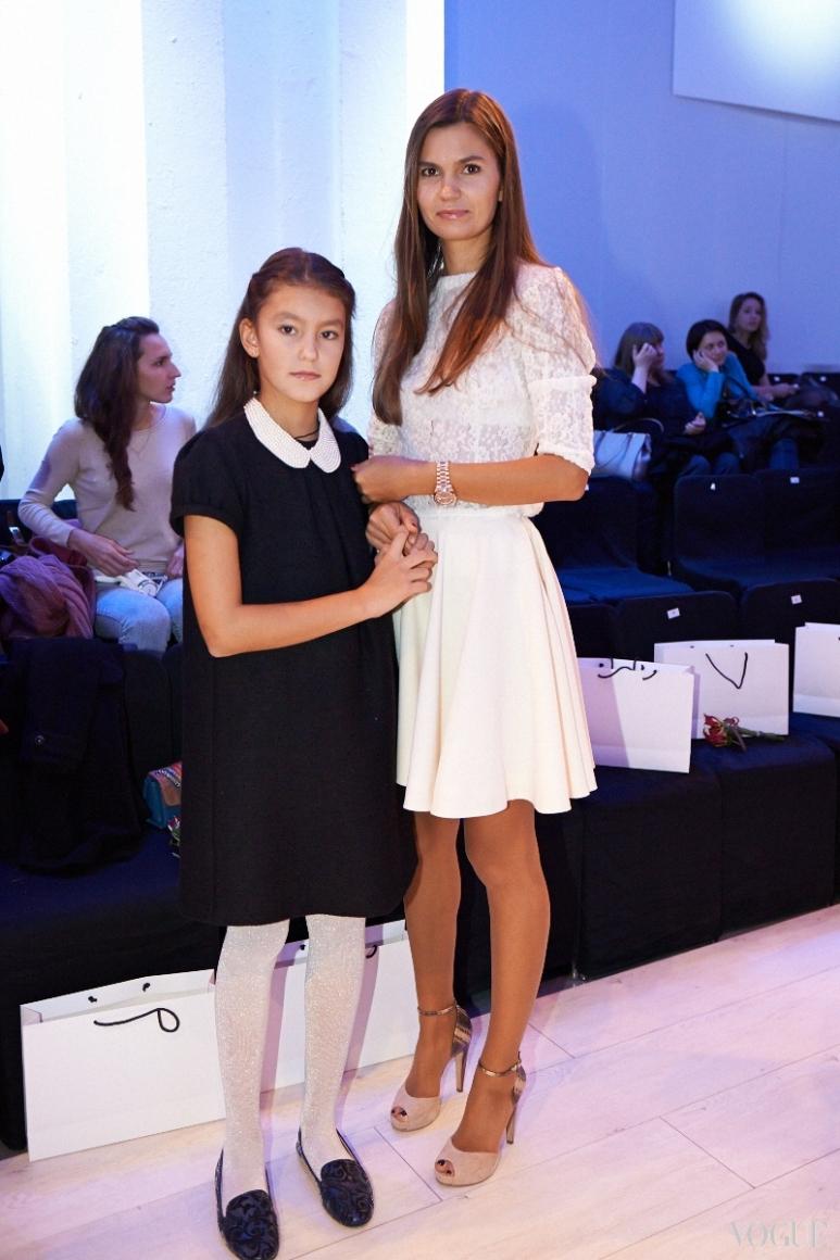 Маша Шаломеева с дочерью
