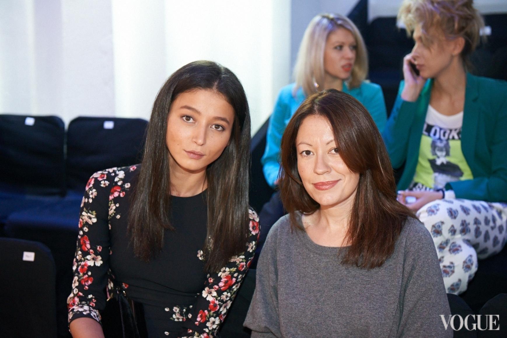 Эвелина Мамбетова и Ирина Тимофеева