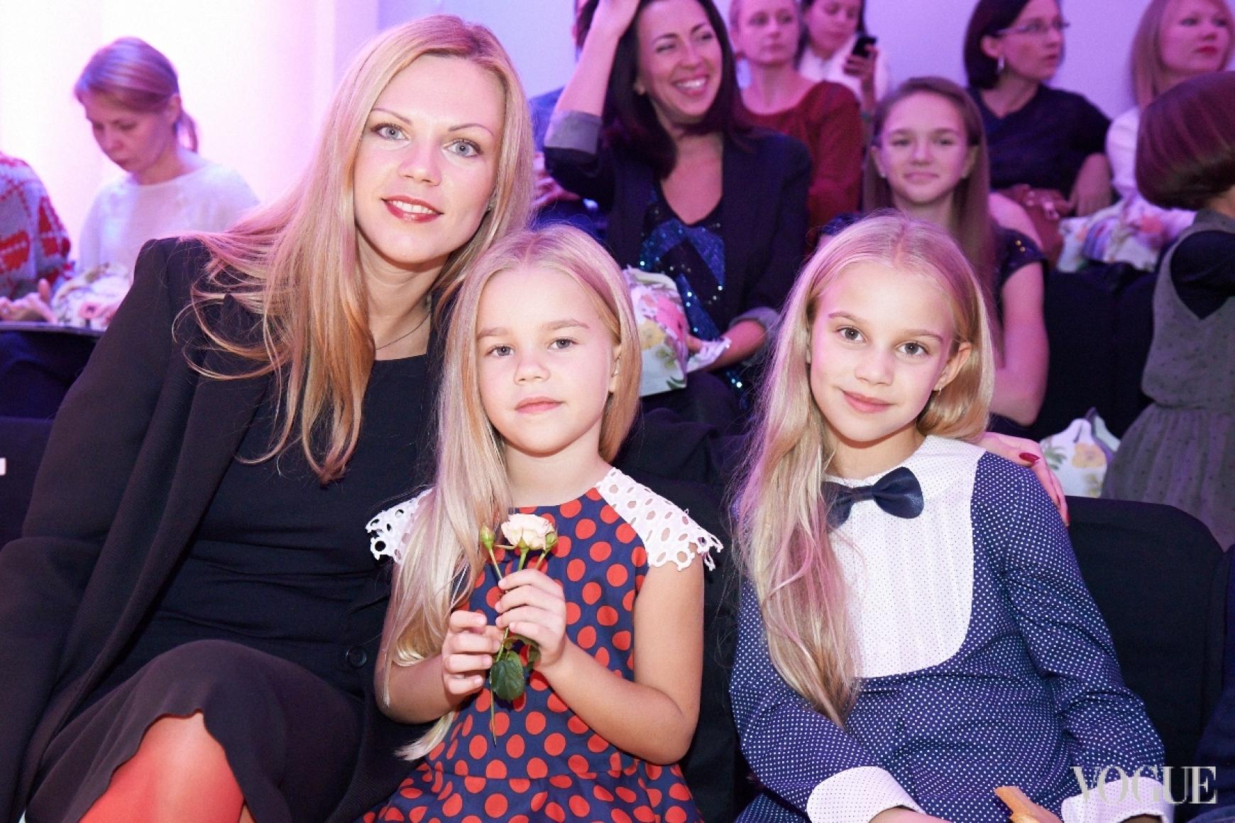 Валерия Толочина с детьми